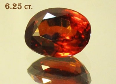 Hessonite 6.25ct