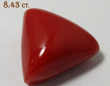 Red Coral 8.43ct